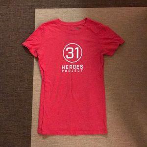 31 heroes Hylete shirt